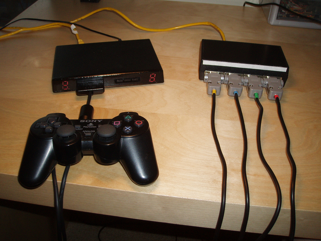 Playstation Scanlime 2 Circuit Diagram Dual Shock Protocol Revisited