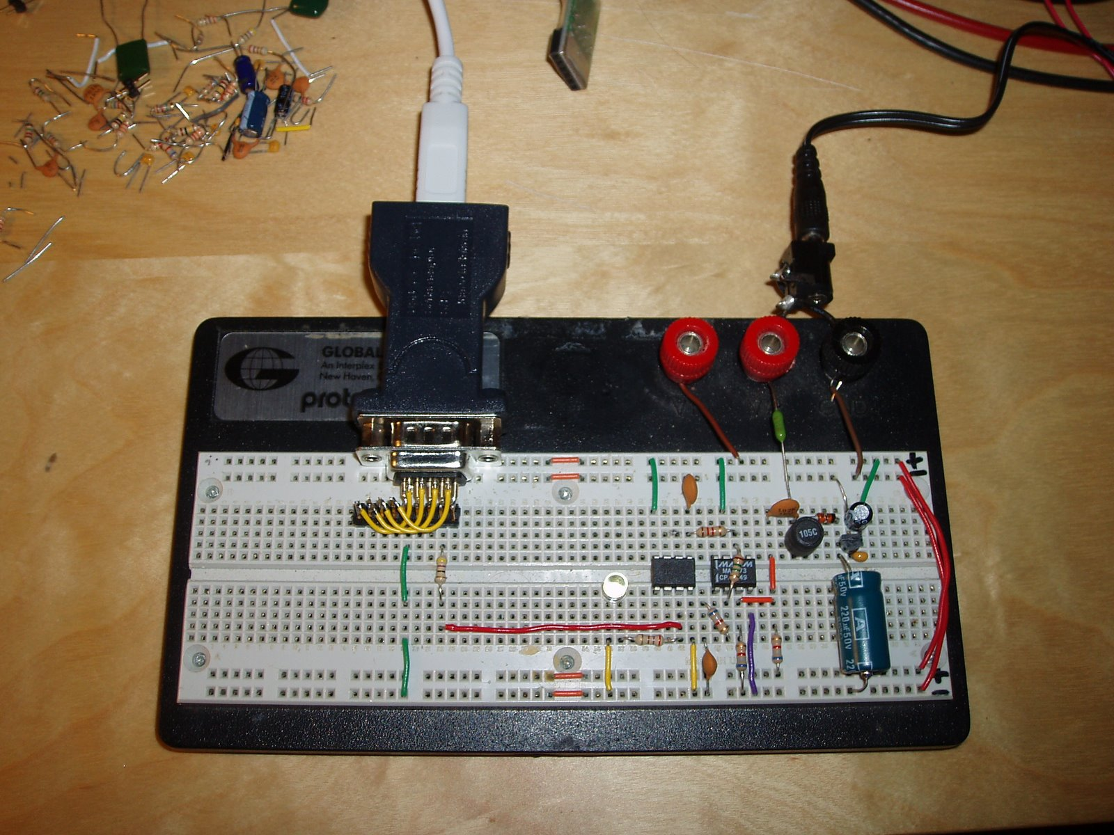 Micah Scanlime Page 10 Circuits 8085 Projects Blog Archive 15v Led Flashlight Circuit Self Contained Ted Receiver
